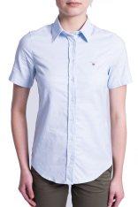 GANT Γυναικείο πουκάμισο Gant - 432682 - Γαλάζιο 2018