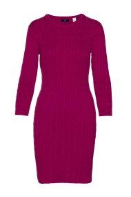 Γυναικείο πλεκτό φόρεμα GANT - 450942 - Μοβ