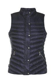 Gant γυναικείο μπουφάν καπιτονέ αμάνικο - 4700080 - Μπλε Σκούρο