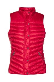 Gant γυναικείο μπουφάν καπιτονέ αμάνικο - 4700080 - Κόκκινο