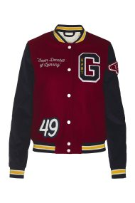 Gant γυναικείο μπουφάν Gant Varsity Jacket - 4700090 - Μπορντό