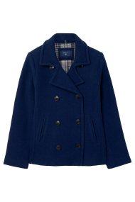 Gant γυναικείο σακάκι μακρύ Wool Pea - 4701002 - Μπλε