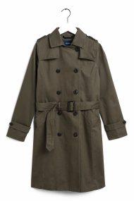 Gant γυναικεία καμπαρντίνα Trench Coat - 4751009 - Χακί