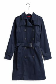 Gant γυναικεία καμπαρντίνα Trench Coat - 4751009 - Μπλε Σκούρο