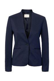 Gant γυναικείο σακάκι χωρίς γιακά - 4770032 - Μπλε Σκούρο