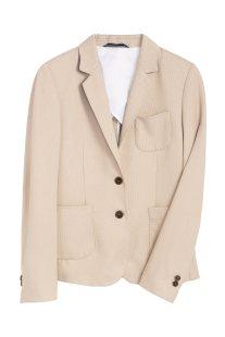 b53cb5e431c7 Gant γυναικείο πικέ σακάκι με ραφές - 4770039 - Μπεζ