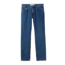 Lacoste ανδρικό παντελόνι τζην πεντάτσεπο straight cut - HH9558 - Μπλε Σκούρο