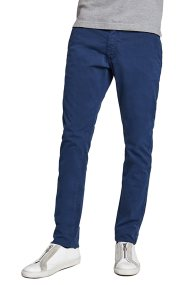 La Martina ανδρικό παντελόνι chino μπλε Luciano - CCMT02-TW213 - Μπλε