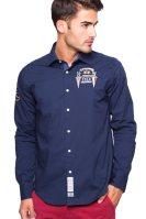 Ανδρικό πουκάμισο La Martina - - Μπλε Σκούρο image