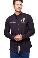Ανδρικό πουκάμισο La Martina - - Μαύρο image