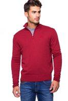 Ανδρική μπλούζα La Martina - KMS003-YW020 - Κόκκινο image