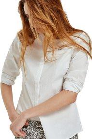 Γυναικείο πουκάμισο Jildaz La Martina - LWC301-PP372 - Λευκό