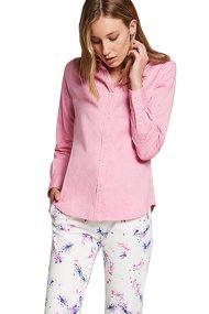 La Martina γυναικείο πουκάμισο Serafina - MWC001-OX014 - Ροζ