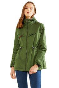 La Martina γυναικείο μπουφάν με κουκούλα Marsha - NWO001-TW285 - Πράσινο