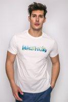 Ανδρικό T-shirt, Nautica - 71902V - Άσπρο image