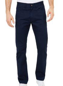 Nautica ανδρικό παντελόνι πεντάτσεπο Straight fit - P82903 - Μπλε Σκούρο