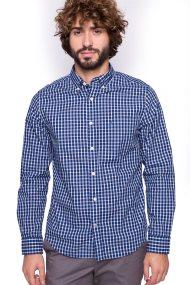Ανδρικό πουκάμισο Nautica - W73140 - Μπλε Ηλεκτρίκ