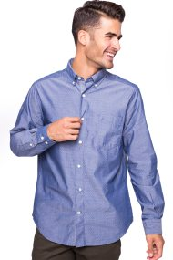 Ανδρικό πουκάμισο Nautica - W73231 - Μπλε