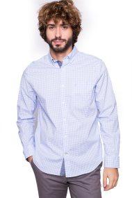 Ανδρικό πουκάμισο Nautica - W73604 - Γαλάζιο