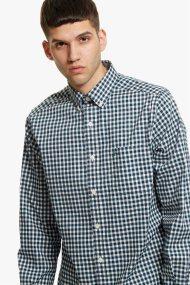 Νautica ανδρικό καρό πουκάμισο με μακρύ μανίκι - W83324 - Κυπαρισσί