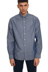 Nautica ανδρικό πουκάμισο με μικροσχέδιο all-over - W83906 - Μπλε