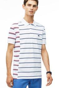 Ανδρική μπλούζα Lacoste - PH2055 - Λευκό