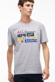 Ανδρικό T-shirt Lacoste - TH1922 - Γκρι