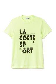 Ανδρικό T-shirt με letter print 2018 Tennis Collection Lacoste - TH3322 - Πράσινο Ανοιχτό