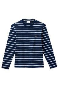 1502c9ff9be6 Lacoste ανδρική μακρυμάνικη μπλούζα ριγέ - TH9416 - Μπλε Σκούρο