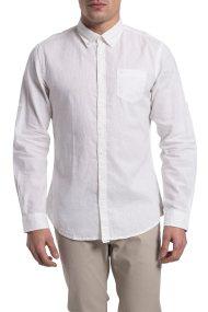 Ανδρικό πουκάμισο λινό Camel Active - CD-335052 - Λευκό