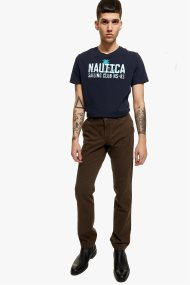 Camel active ανδρικό παντελόνι chino Woodstock - CB-83-477645-8531 - Χακί