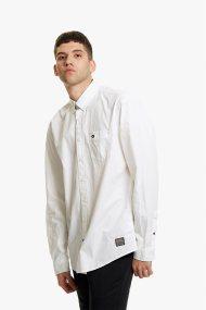 Camel Active ανδρικό πουκάμισο μονόχρωμο - CD-83-345000 - Λευκό
