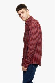 Camel Active ανδρικό καρό πουκάμισο Button down - CD-83-345040 - Κόκκινο
