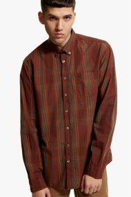 Camel Active ανδρικό καρό πουκάμισο Dan B.D. - CD-83-345230 - Κεραμιδί