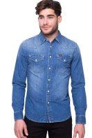 Ανδρικό πουκάμισο Lee - L643AFVI - Μπλε image