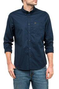 Ανδρικό πουκάμισο Button Down Lee - L880JQEE - Μπλε Σκούρο