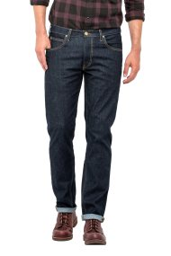 Lee Daren Zip Fly regular slim ανδρικό τζην παντελόνι Rinse - L707JJDP - Μπλε Σκούρο