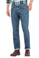 Lee Daren Zip Fly regular ανδρικό τζην παντελόνι Mid Washed - L707JJSI - Μπλε image