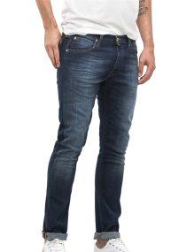 Lee Luke Slim Tapered ανδρικό τζην παντελόνι True Authentic - L719GCBY - Μπλε Σκούρο