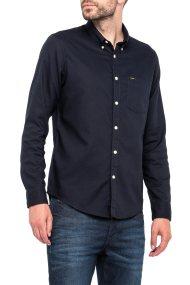 Lee ανδρικό πουκάμισο Button Down Shirt Night Sky - L880ZLSJ - Μπλε Σκούρο