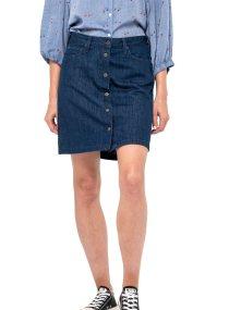 Lee γυναικεία denim φούστα A Line Skirt Rinse - L38NRC36 - Μπλε Σκούρο
