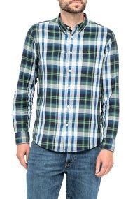 Lee ανδρικό πουκάμισο Lee Button Down Shirt Night Sky - L880ZESJ - Πράσινο