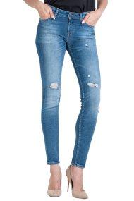 Lee Scarlett Skinny γυναικείο τζην παντελόνι Broken blue - L30WRONK - Γαλάζιο