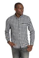 Lee ανδρικό καρό πουκάμισο Slim fit Button Down - L66XOF01 - Μαύρο image