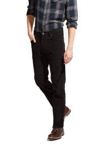 Ανδρικό παντελόνι Arizona Wrangler - W12OEC100 - Μαύρο