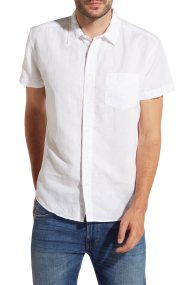 Wrangler ανδρικό πουκάμισο με κοντό μανίκι Shortsleeve - W5860LO12 - Λευκό