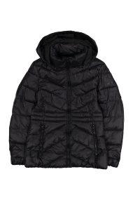 Wrangler γυναικείο μπουφάν καπιτονέShort Puffer Black - W4124V501 - Μαύρο