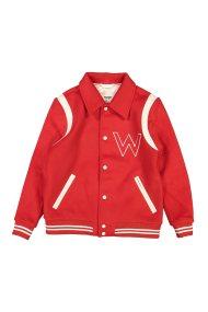 Wrangler γυναικείο Bomber JacketSalsa Red - W4130VUWN - Κόκκινο