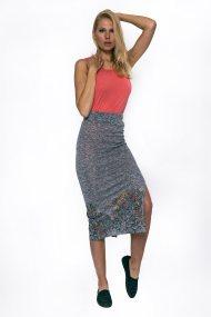 Γυναικεία φούστα Desigual - 73F2YA700000 - Γκρι