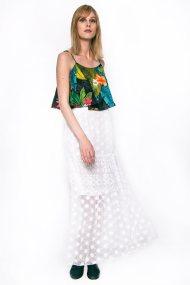Γυναικεία φούστα, Desigual - 74F2WC400000 - Λευκό